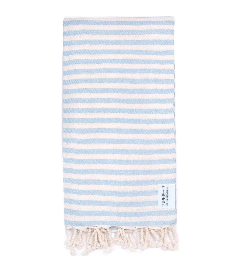 Turkish T Beach Candy™ Towel - Light Blue