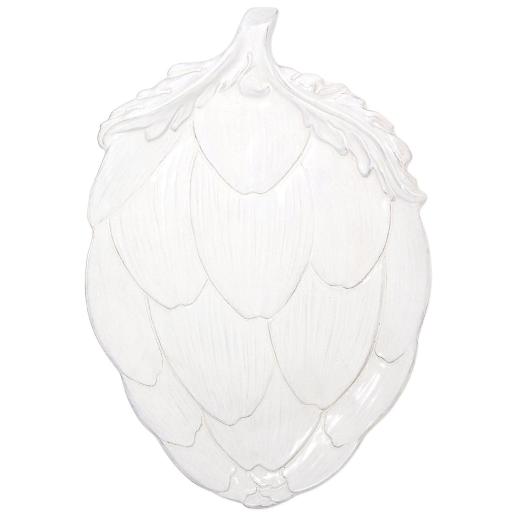 VIETRI Artichoke Serving Platter - White