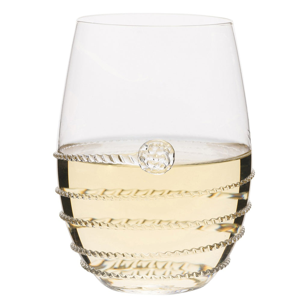 Juliska Amalia Stemless White Wine Glass