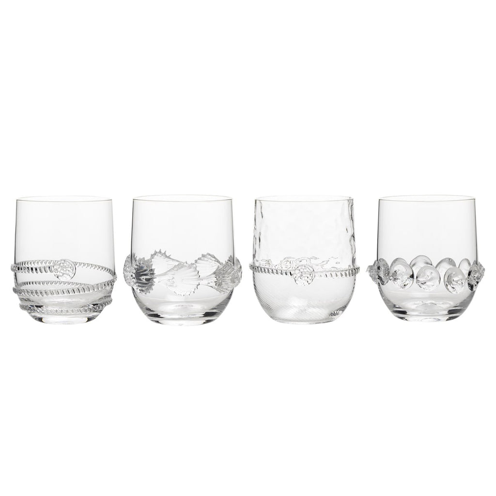 Juliska Heritage Collectors Tumblers, Set of 4