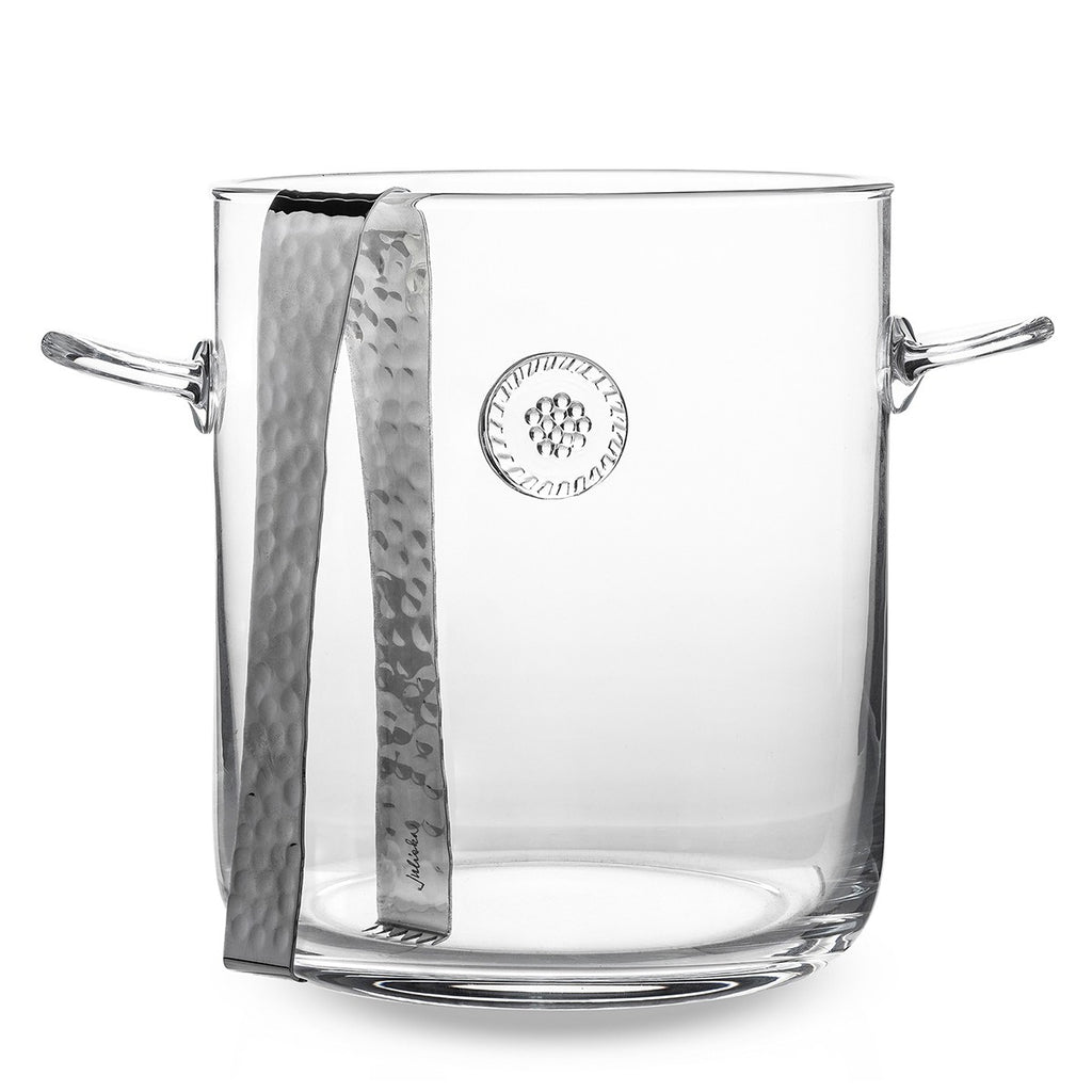 Juliska Berry & Thread Ice Bucket with Tongs