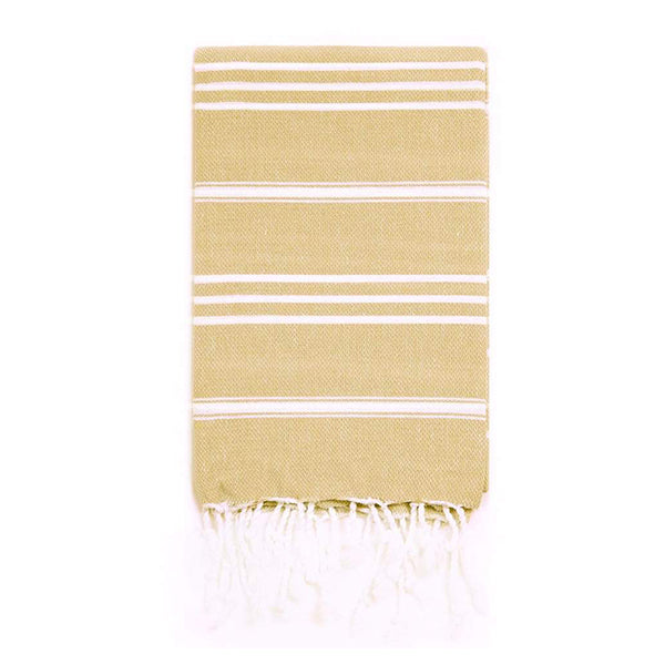 Turkish T Classic Hand Towel - Mustard