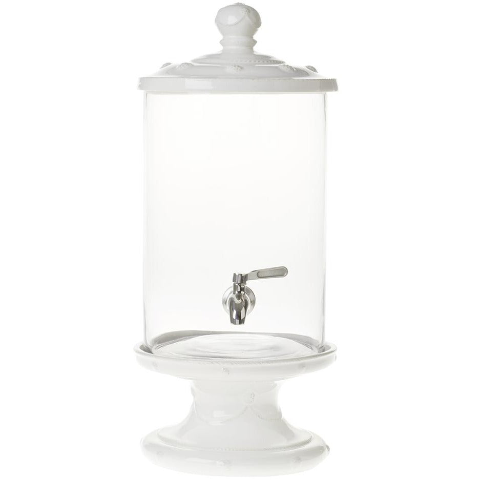 Juliska Berry & Thread Beverage Dispenser Set, White