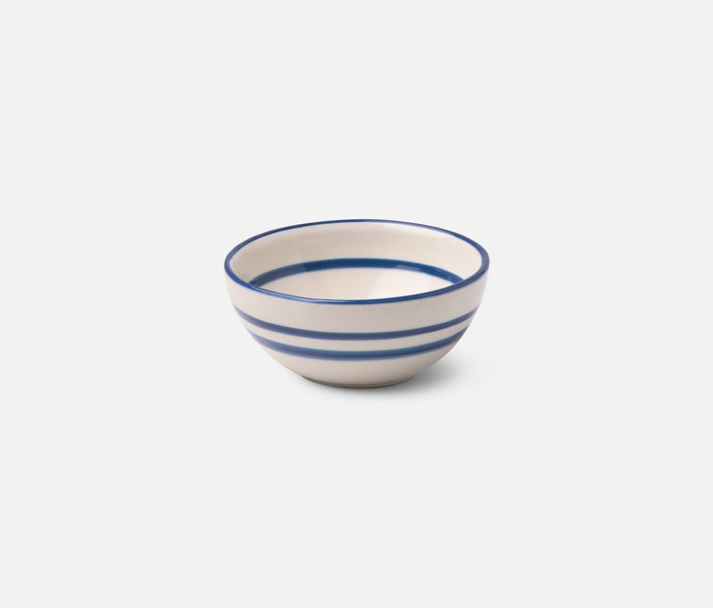 Mark D. Sikes Hyannis Blue Stripe Cereal Bowl