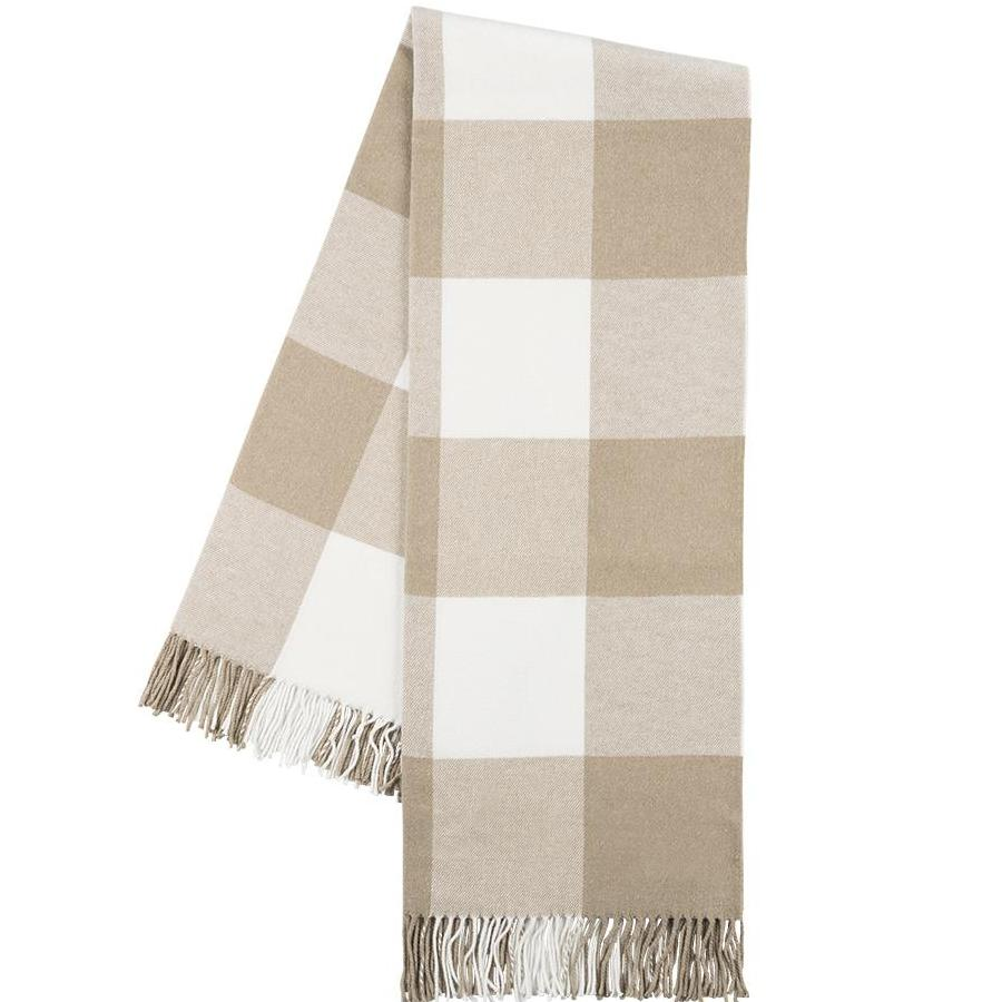 Dune Buffalo Check Throw Blanket