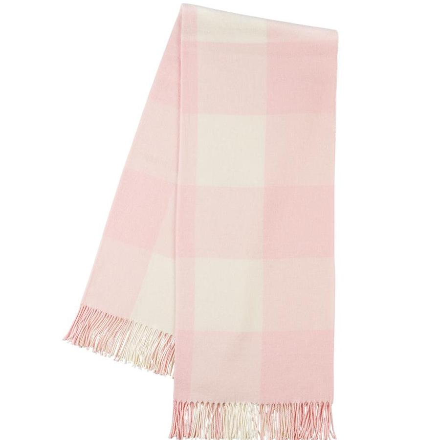 Pink Buffalo Check Throw Blanket