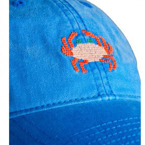 Needlepoint Crab Hat - Waiting On Martha - 3