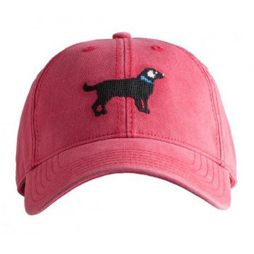 Needlepoint Black Lab Hat - Waiting On Martha