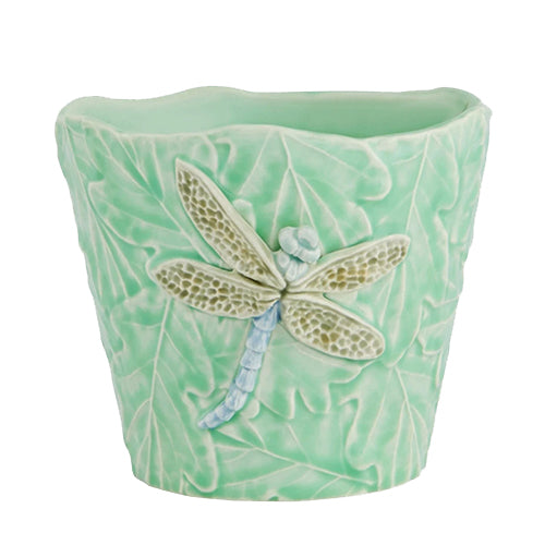 Garden of Insects Vase, Dragonfly