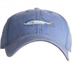 Needlepoint Bluefish Hat - Waiting On Martha - 1
