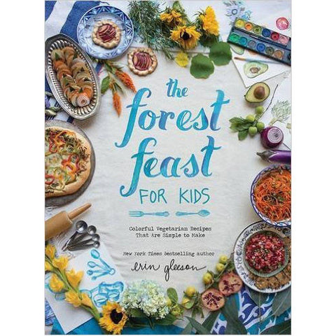 Forest Feast For Kids: Colorful Vegetarian Recipes that are Simple to Make - Waiting On Martha - 1