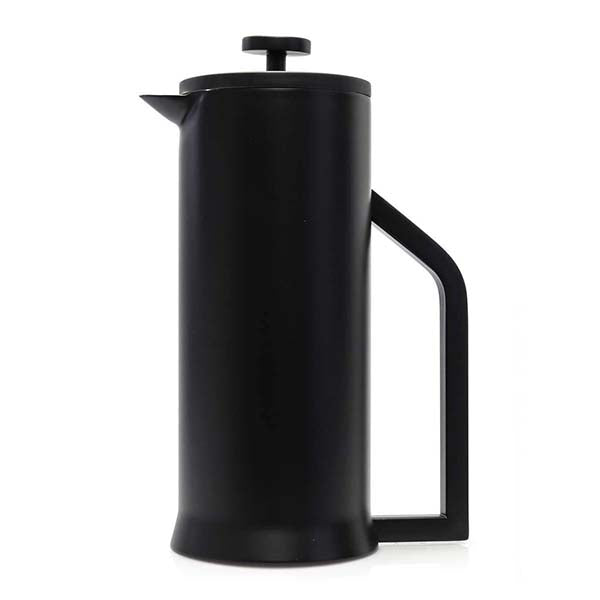 Stainless Steel French Press Coffee Maker 34oz, Black