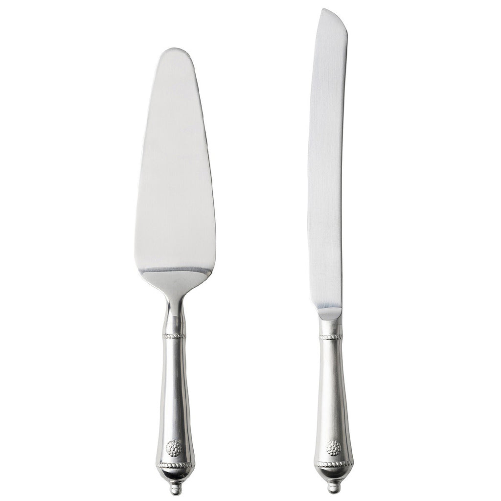 Juliska Berry & Thread Bright Satin Cake Knife/Server Set