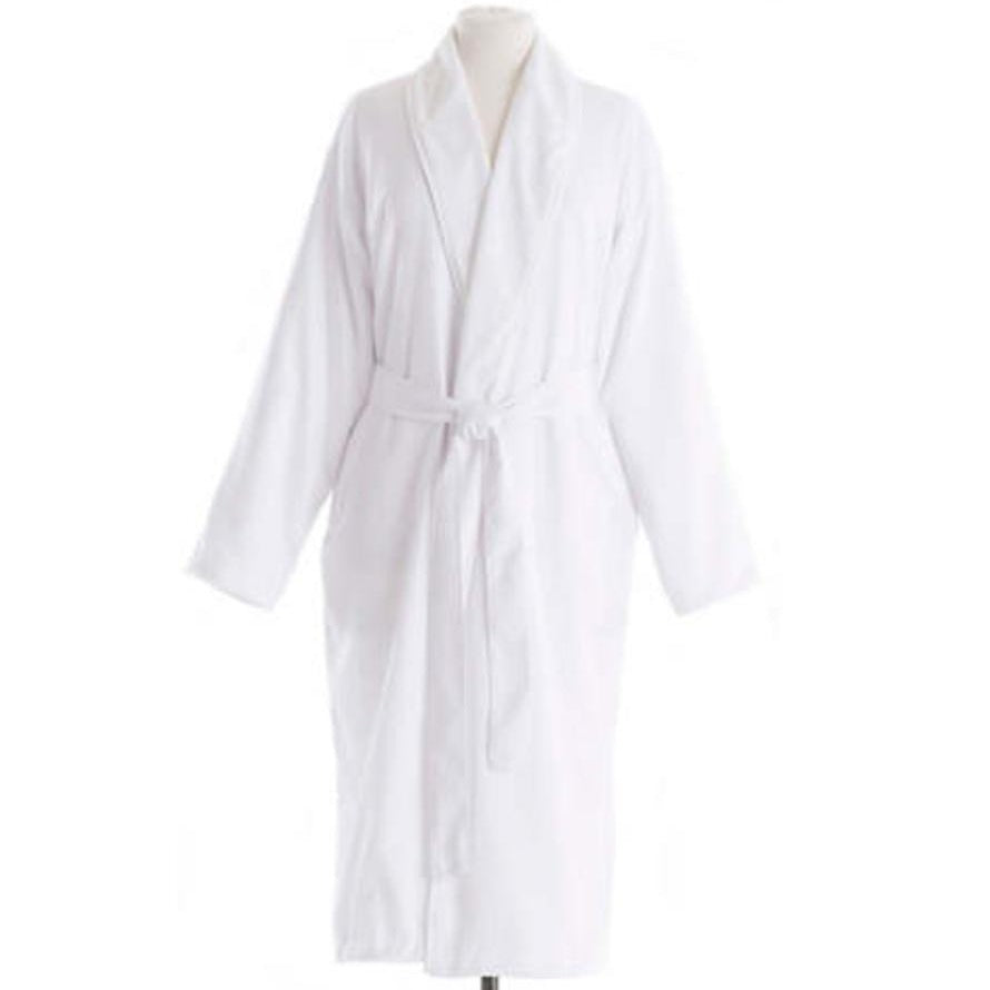 Pine Cone Hill Harlow Spa Robe, White