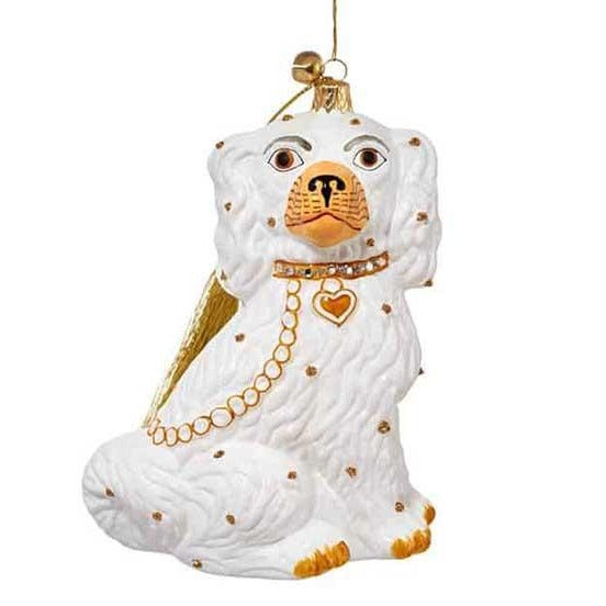 Hearthside Greetings Dog Ornament with Swarovski Crystals