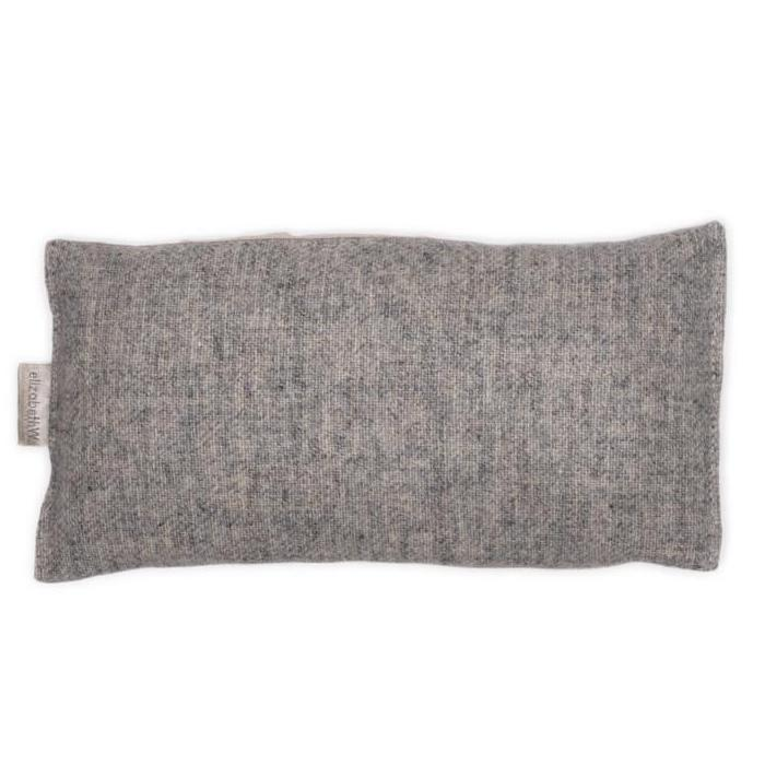 Heather Gray Cashmere Eye Pillow