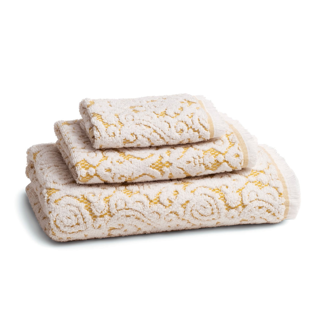 Dalia Gold Bath Towel