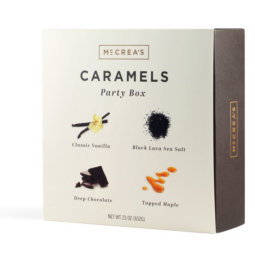 McCrea's Caramels Large Party Box