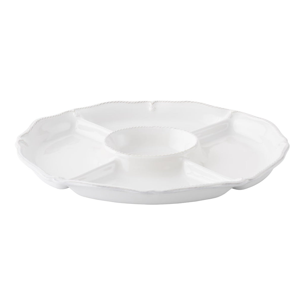 Juliska Berry & Thread Crudite Platter, White
