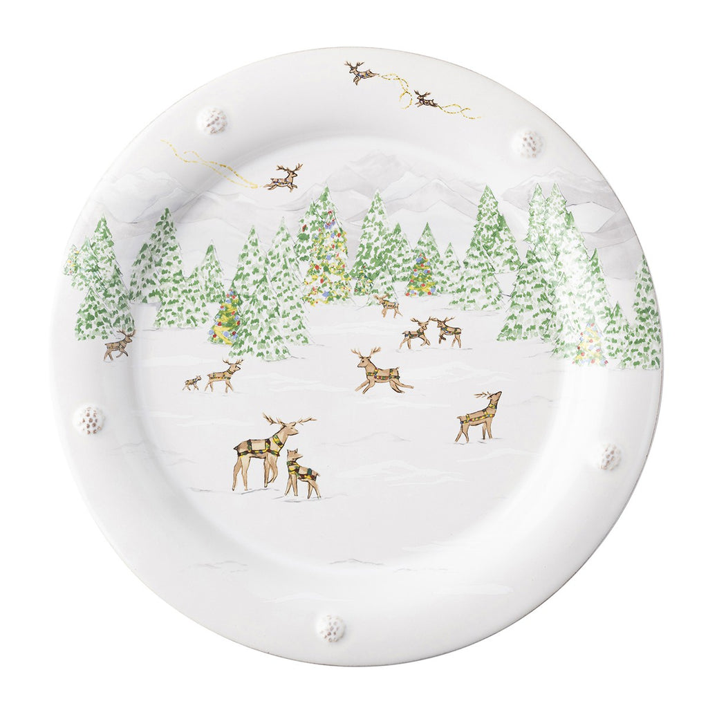 Juliska Berry & Thread North Pole Dinner Plate