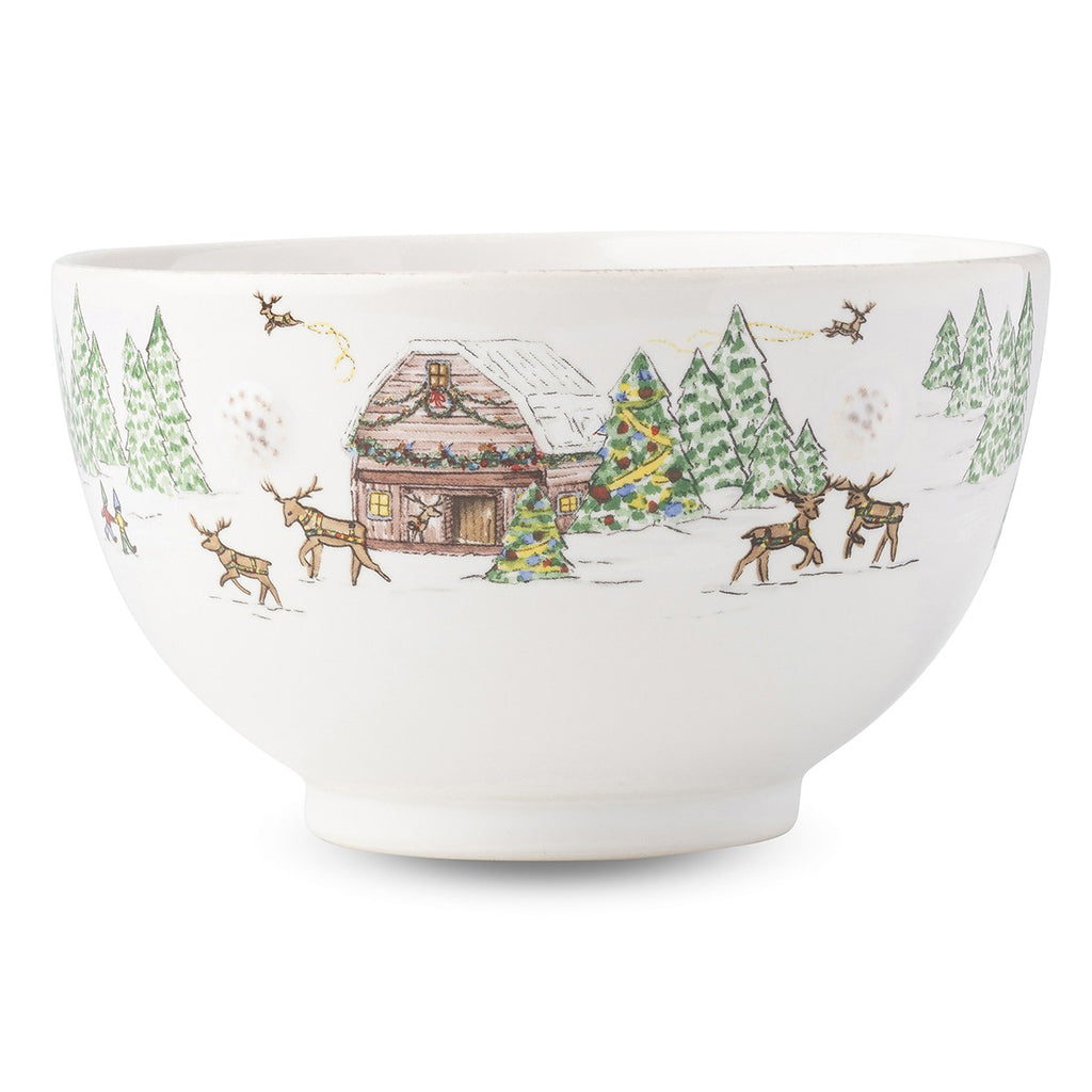 Juliska Berry & Thread North Pole Cereal & Ice Cream Bowl