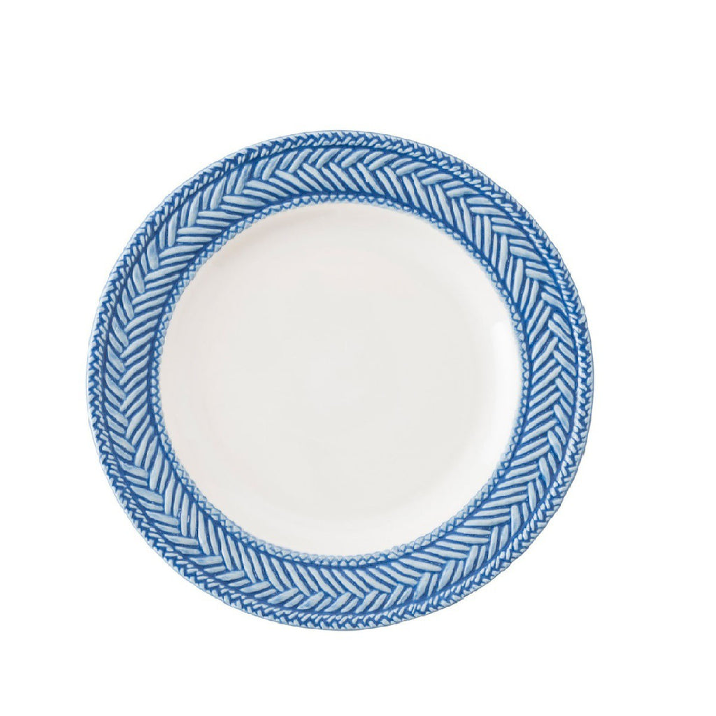 Juliska Le Panier White/Delft Side/Cocktail Plate