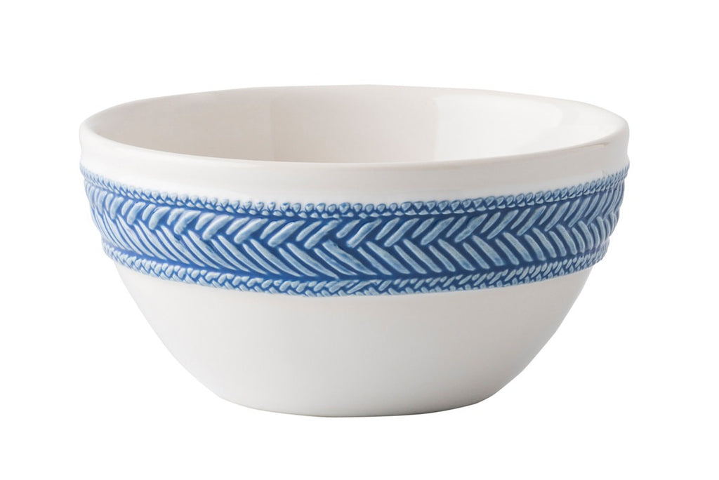 Juliska Le Panier White/Delft Cereal/Ice Cream Bowl