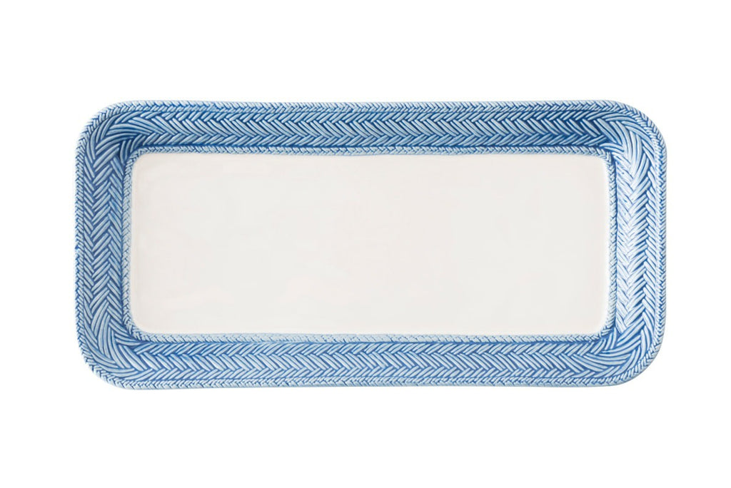 Juliska Le Panier White/Delft Hostess Tray
