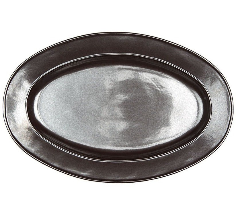 "Juliska Pewter Medium Oval Platter, 15""L"