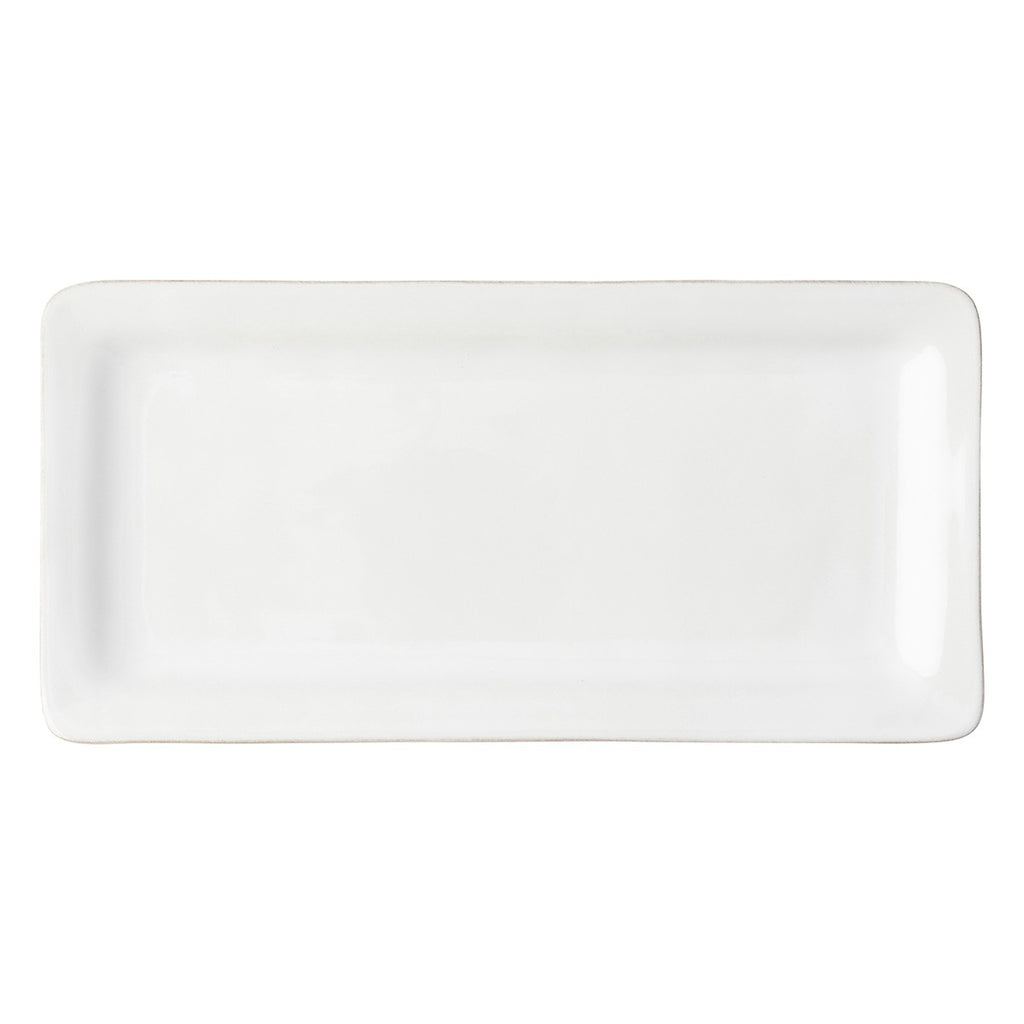 Juliska Puro Rectangular Appetizer Platter, White