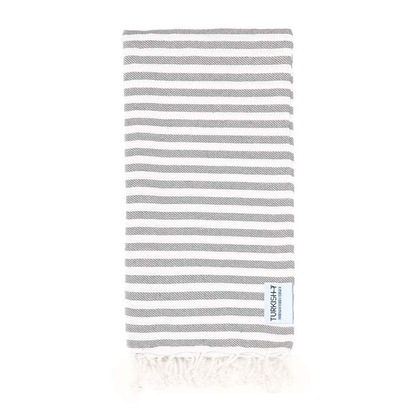 Turkish T Beach Candy™ Towel - Light Gray