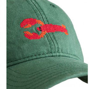 Needlepoint Lobster Hat - Waiting On Martha - 2