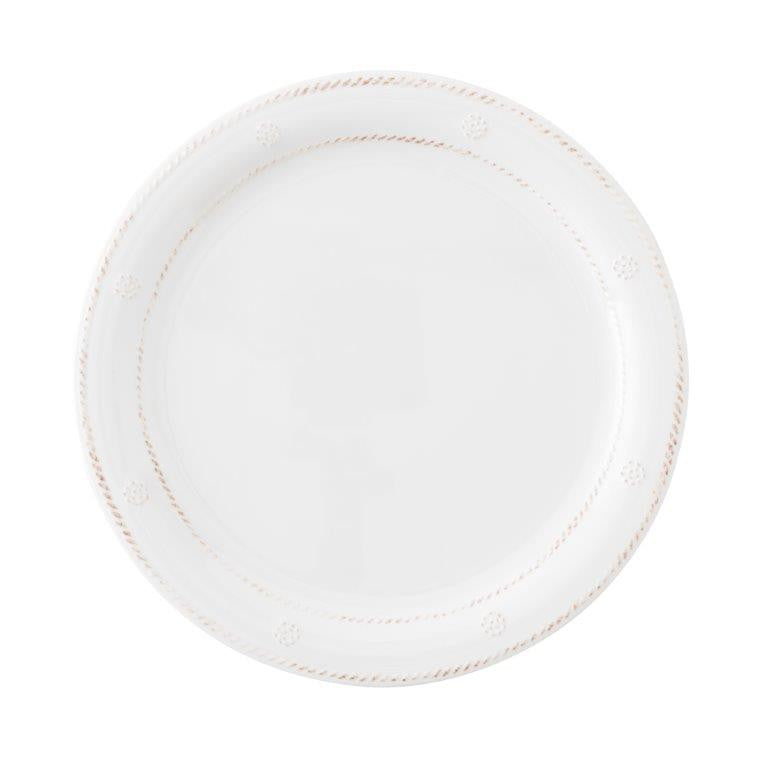 Juliska Berry & Thread Melamine Dinner Plate, White