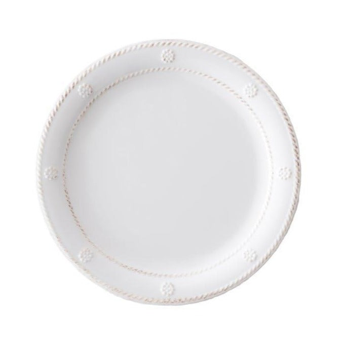 Juliska Berry & Thread Melamine Dessert & Salad Plate, White