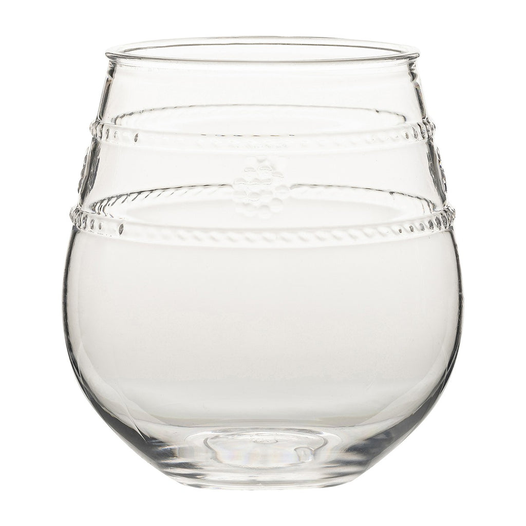 Juliska Isabella Acrylic Stemless Wine Glass *PREORDER*