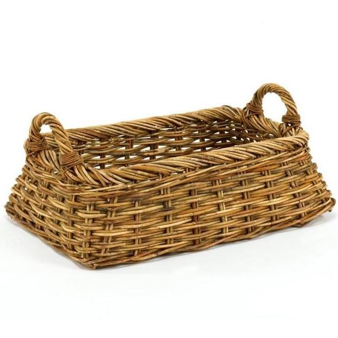 Cottage Linens Basket