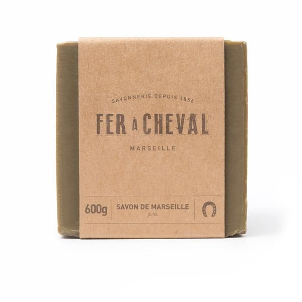 Fer à Cheval Genuine Marseille Soap - Olive Oil 600g Cube