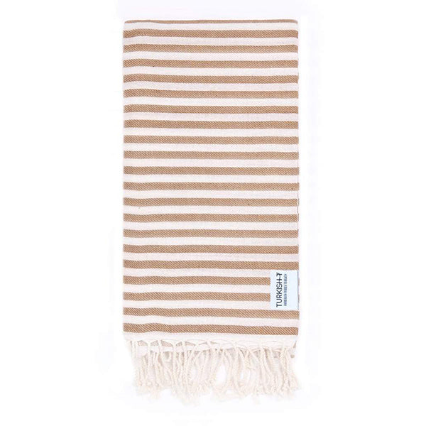 Turkish T Beach Candy™ Towel - Mocha