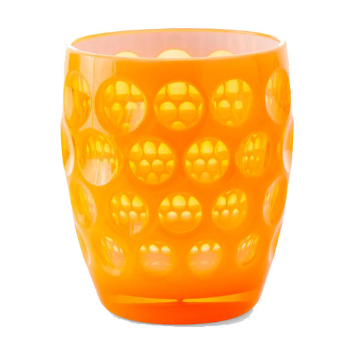 Orange Lente Fluo Glass