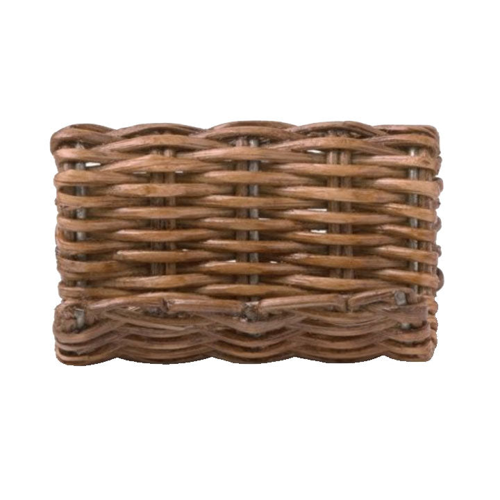 Gibson Honey Rattan Place Card Holders - Set of 4