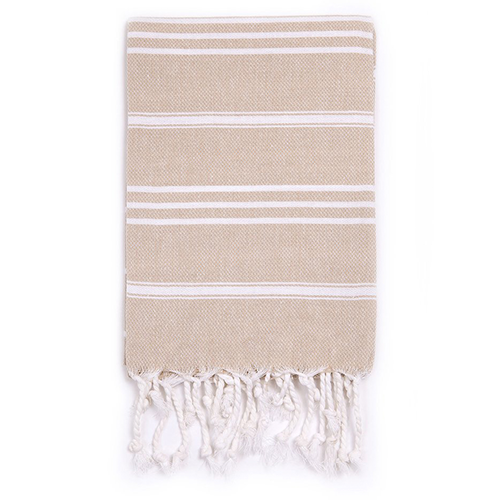 Turkish T Classic Hand Towel - Sand