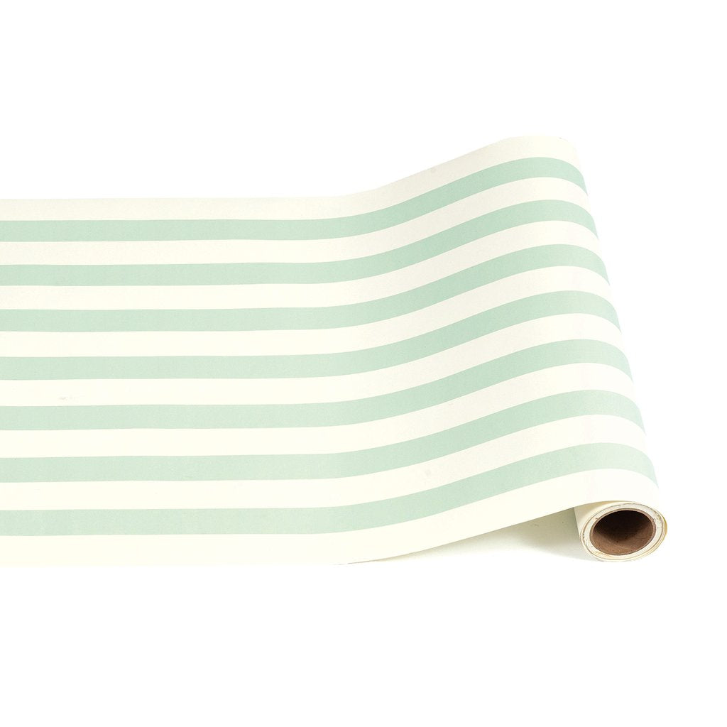 Seafoam Paper Table Runner