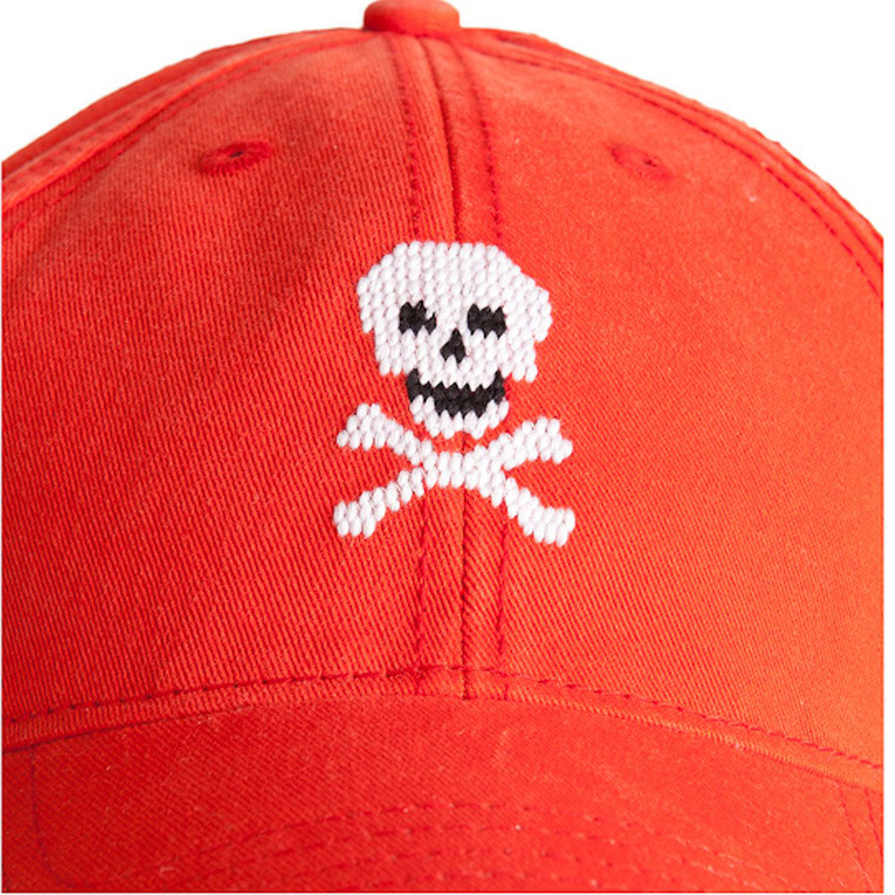 Needlepoint Skull Hat - Waiting On Martha - 2