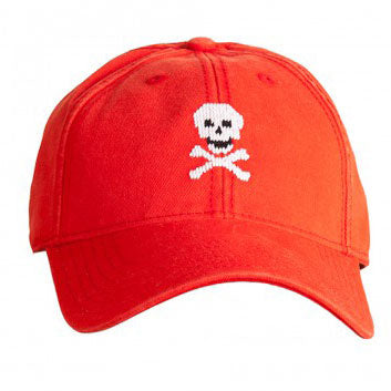 Needlepoint Skull Hat - Waiting On Martha - 1