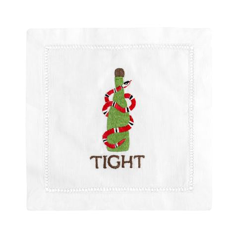 """Tight"" Cocktail Napkin Set"