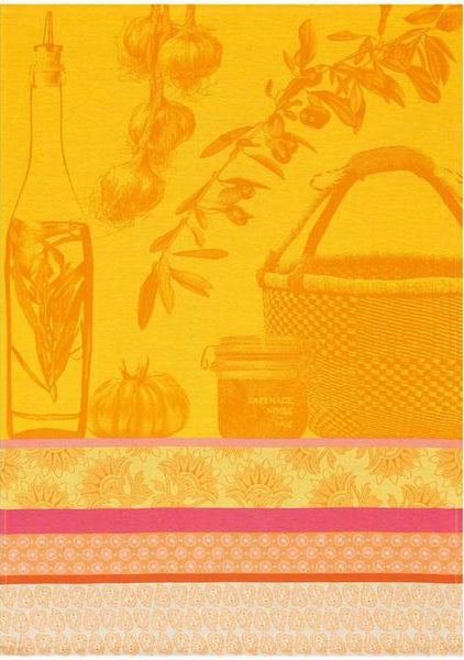 "Le Jacquard Francais ""Saveurs de Provence Lemon"" Kitchen Towel"