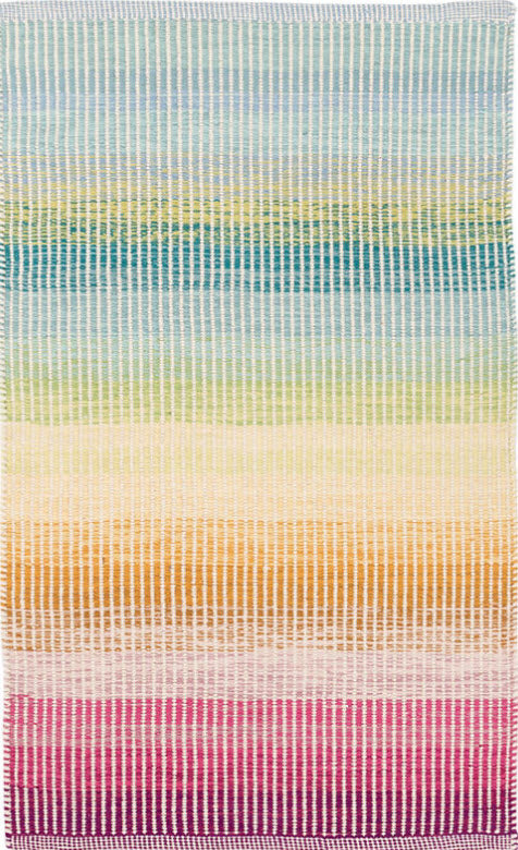 Dash & Albert Watercolor Horizon Woven Cotton Rug