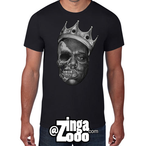 Notorious Skull Tee by ZingaZooo