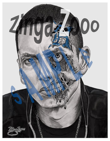 Em Zombie - Large Poster