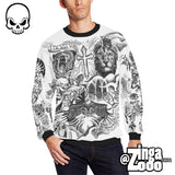 Justin Bieber Tattoo Crew Neck Men